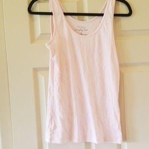 Light pink cotton tank top